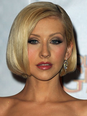 Christina Aguilera at the 2010 Golden Globes 2010-01-17 19:05:14