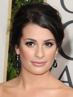 Lea Michele at the 2010 Golden Globe Awards 2010-01-17 16:13:10