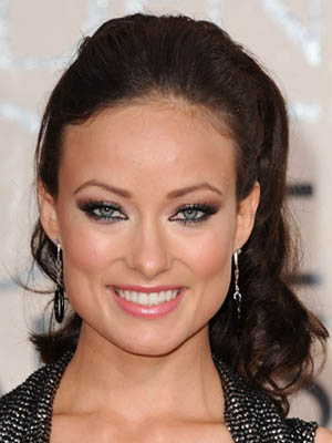 Olivia Wilde at the 2010 Golden Globe Awards