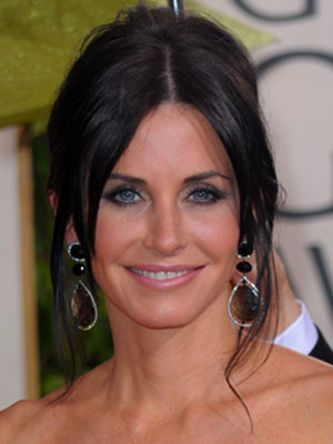 Courteney Cox at the 2010 Golden Globe Awards 2010-01-17 18:45:18