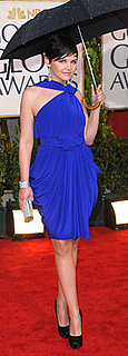 Ginnifer Goodwin Wears Blue to 2010 Golden Globes
