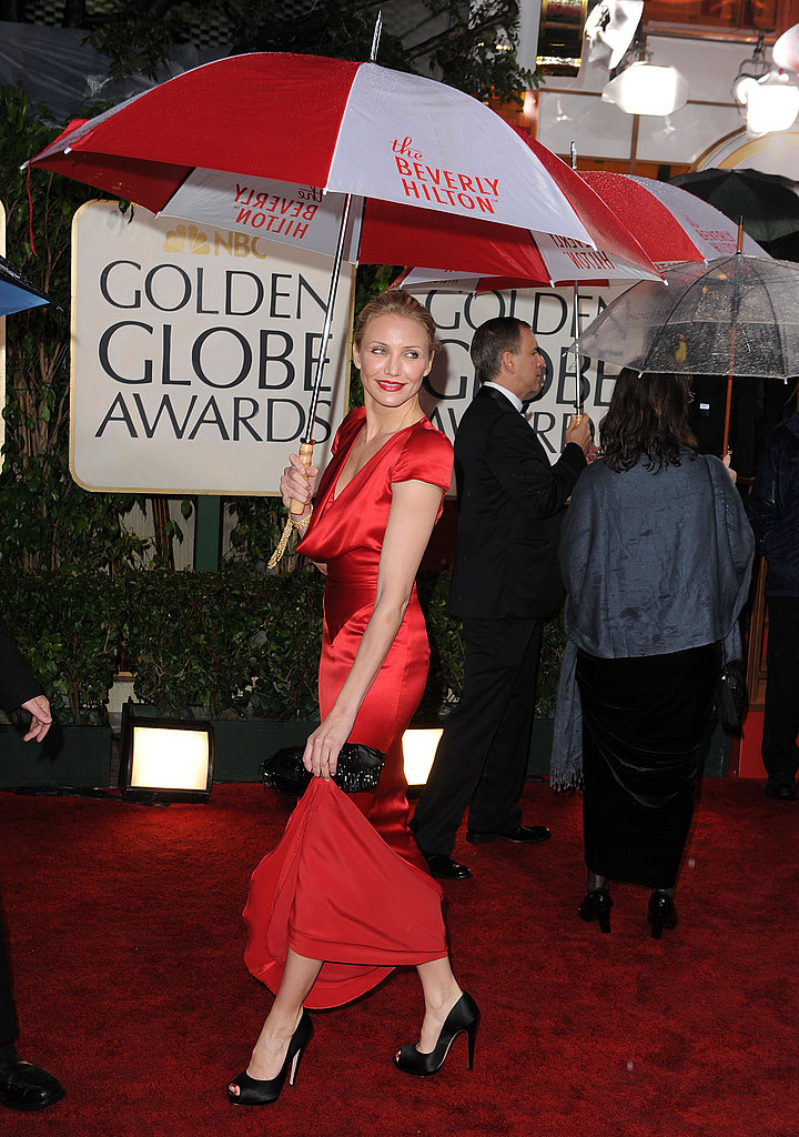 Photos of Cameron Diaz at Globes