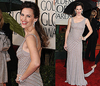 Jennifer Garner Glitters at the Globes
