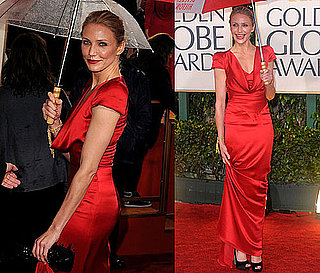 Cameron Diaz at the 2010 Golden Globes