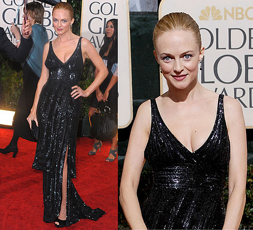 Heather Graham at the 2010 Golden Globe Awards