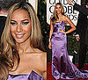 Leona Lewis in Roberto Cavalli at 2010 Golden Globe Awards