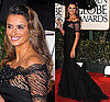 Penelope Cruz in Giorgio Armani Prive at the 2010 Golden Globe Awards