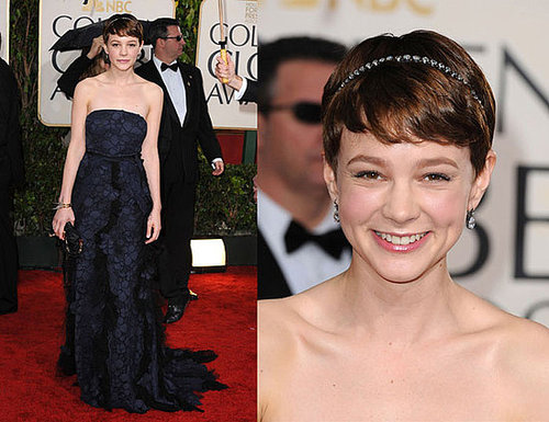 Carey Mulligan in Nina Ricci at 2010 Golden Globe Awards