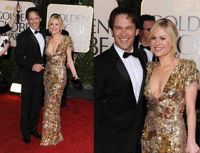 Anna Paquin in Stella McCartney at 2010 Golden Globe Awards