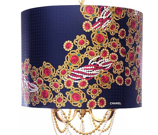 This gorgeous Bespoke Chanel Silk Scarf Chandelier