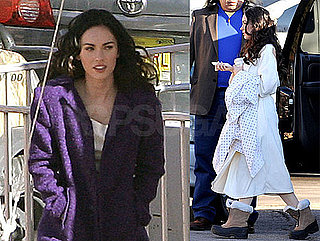 Photos of Megan Fox on Set in New Mexico on the Film Passion Play