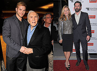 Photos of Jon Hamm, Jennifer Westfeldt, Mallika Sherawat, Jeffrey Katzenberg, Kirk Douglas, Diane Nelson at an LA Screening 2010-01-14 12:30:00