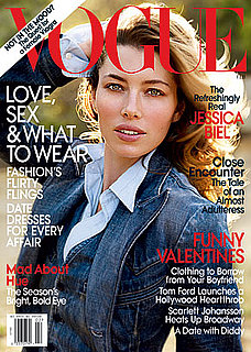 Jessica Biel Is the February 2010 Vogue Cover Girl