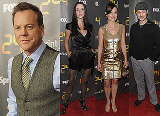 Watch Kiefer Sutherland in Dress on Letterman Video, Annie Wersching, Freddie Prinze Jr at 24 Season 8 Launch Pictures
