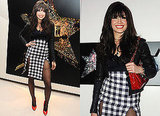 Photos of Daisy Lowe in Christopher Kane Split Skirt