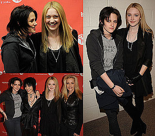 Kristen Stewart and Dakota Fanning Photo From Sundance Premiere of The Runaways 2010-01-25 06:00:00