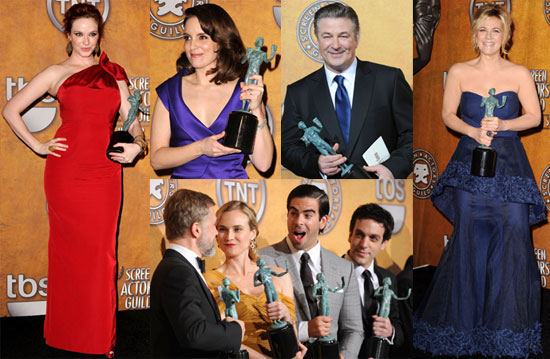 Photos From the 2010 SAG Awards Press Room