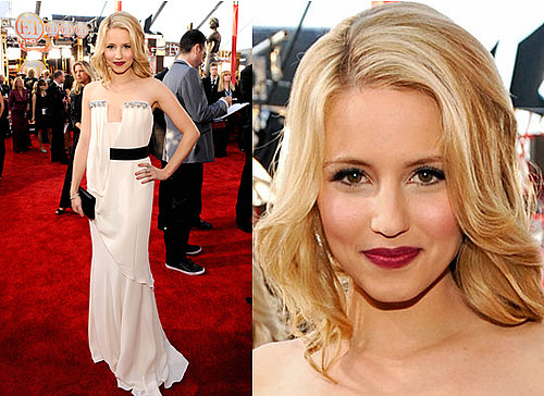 Dianna Agron at 2010 SAG Awards