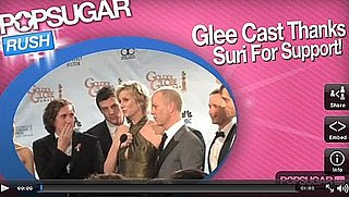 Glee Cast Thanks Suri For Support!