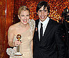 Slide Photo of Drew Barrymore and Justin Long After Golden Globes
