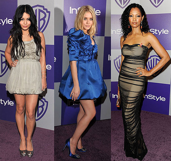 Celebrities at 2010 InStyle Golden Globes Afterparty