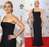 Kate Winslet in Yves Saint Laurent at the 2010 Golden Globe Awards