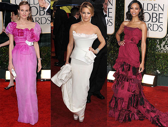 2010 Golden Globe Awards Trend: Alluringly Artsy