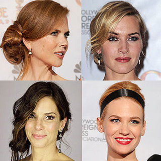2010 Golden Globes Hair, Celebrity Hairstyles