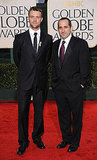 Jesse Spencer and Peter Jacobson