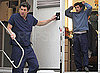 Photos of Patrick Dempsey and Ellen Pompeo on the Set of Grey&#039;s Anatomy in LA