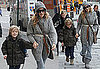 Photos of Sarah Jessica Parker and James Wilkie Broderick Walking in NYC