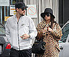 Slide Photo of Nicole Richie and Joel Madden Having Lunch in LA