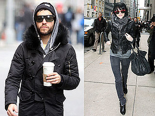 Photos of Ashlee Simpson and Pete Wentz Walking Around NYC