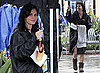 Photos of Courteney Coxon the Set of Cougar Town in LA