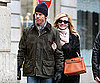 Slide Photo of Julia Roberts and Danny Moder Walking Around Paris
