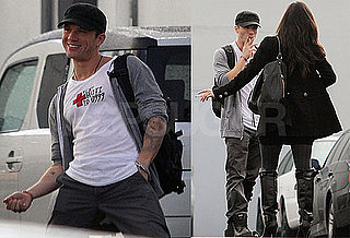 Ryan Phillippe Filming MacGruber in LA