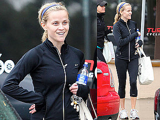Photos of Reese Witherspoon After a Spin Class in LA