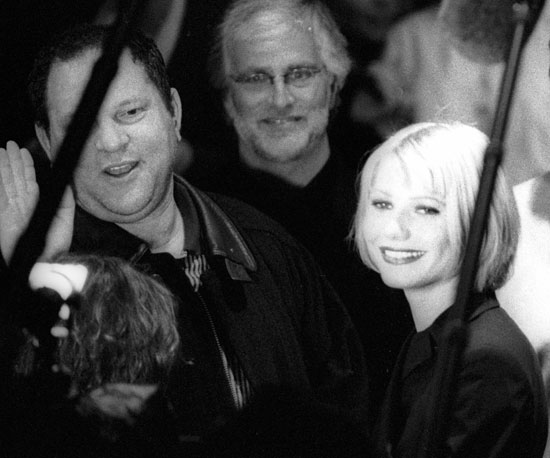 Harvey Weinstein and Gwyneth Paltrow were together at the 1998 Sundance festival.
