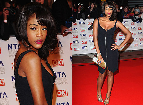 Tiana Benjamin at 2010 National Television Awards