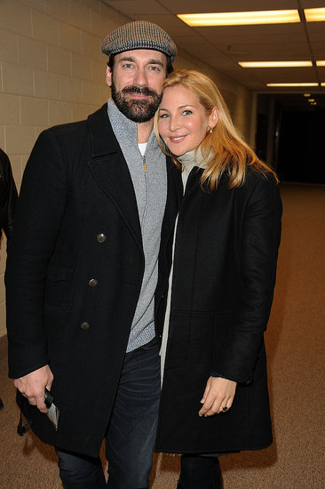 Photos of Hamm and Franco