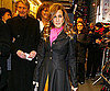 Slide Photo of Sarah Jessica Parker Attending Present Laughter on Broadway in NYC