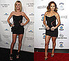 Heidi Klum and Jennifer Lopez Wear the Same Louis Vuitton LBD 2010-01-21 17:26:11