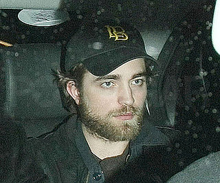 Slide Photo of Robert Pattinson With Beard in London