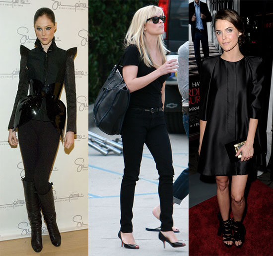 Celebrities in All Black Outfits