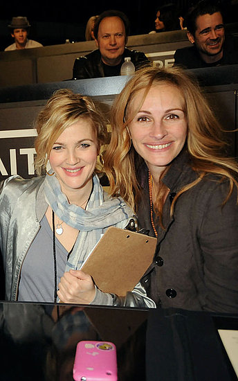 Drew Barrymore and Julia Roberts