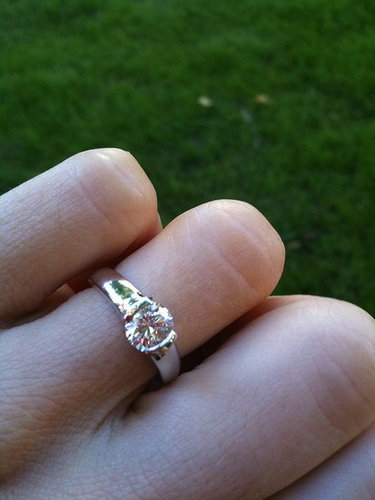...my engagement ring!