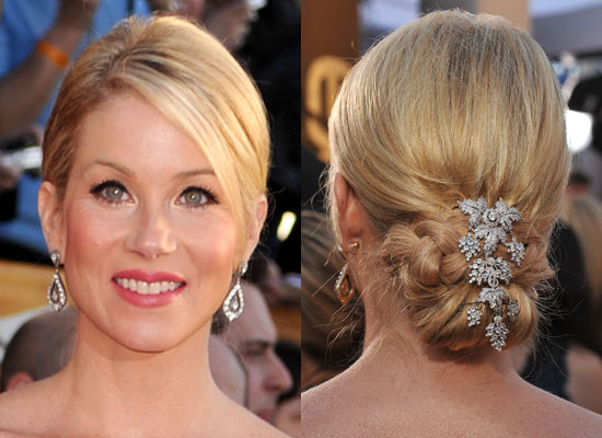 Christina Applegate at 2010 SAG Awards 2010-01-23 16:49:21