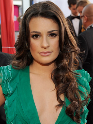Lea Michele at 2010 SAG Awards 2010-01-23 18:31:19