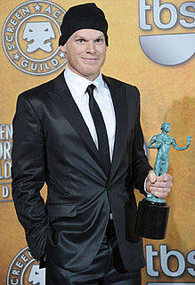 Michael C. Hall Celebrates His SAG Win in the Press Room