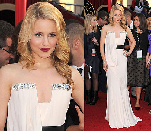 Glee's Dianna Agron at 2010 SAG Awards 2010-01-23 18:22:25